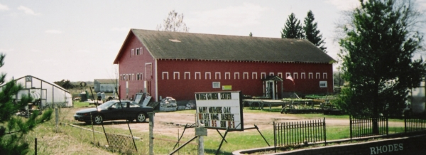 Outside Barn